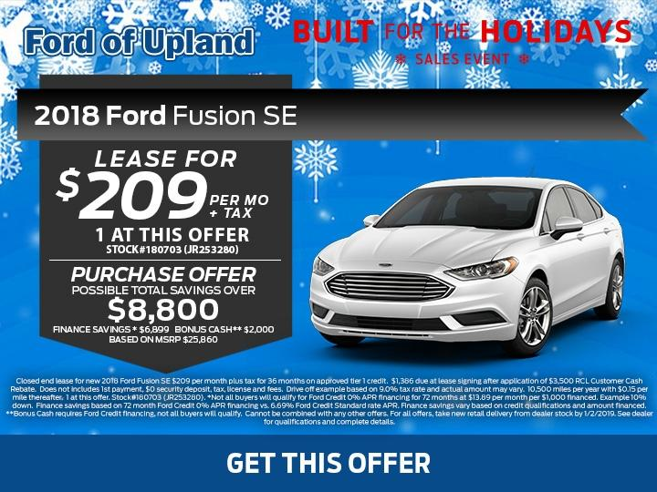 Fusion Offer