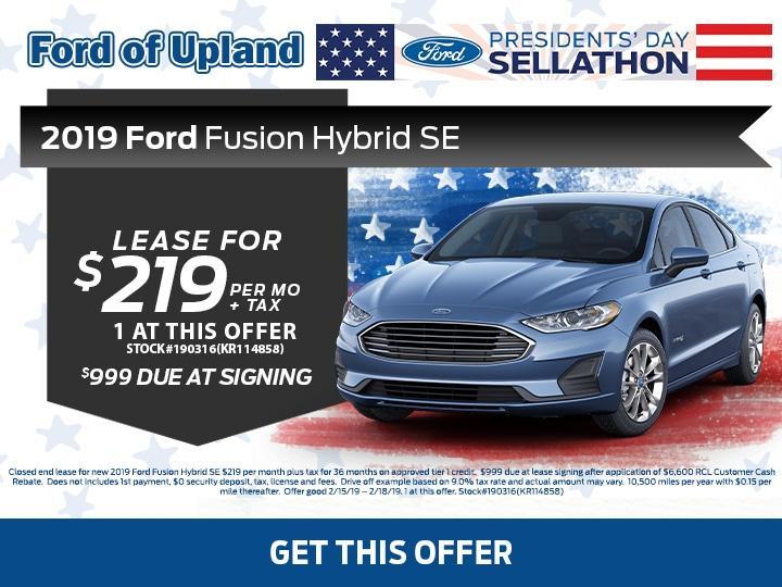 Fusion Hybrid SE