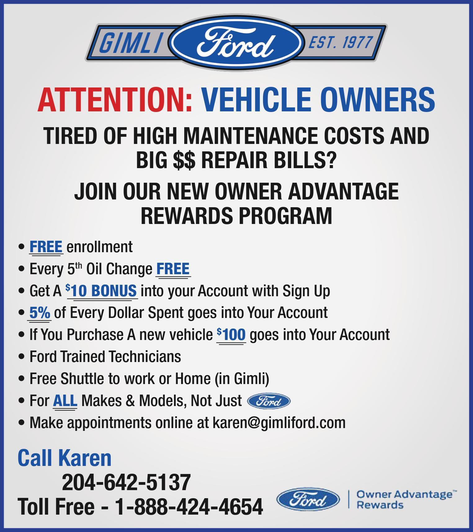 Ford Service Offers image