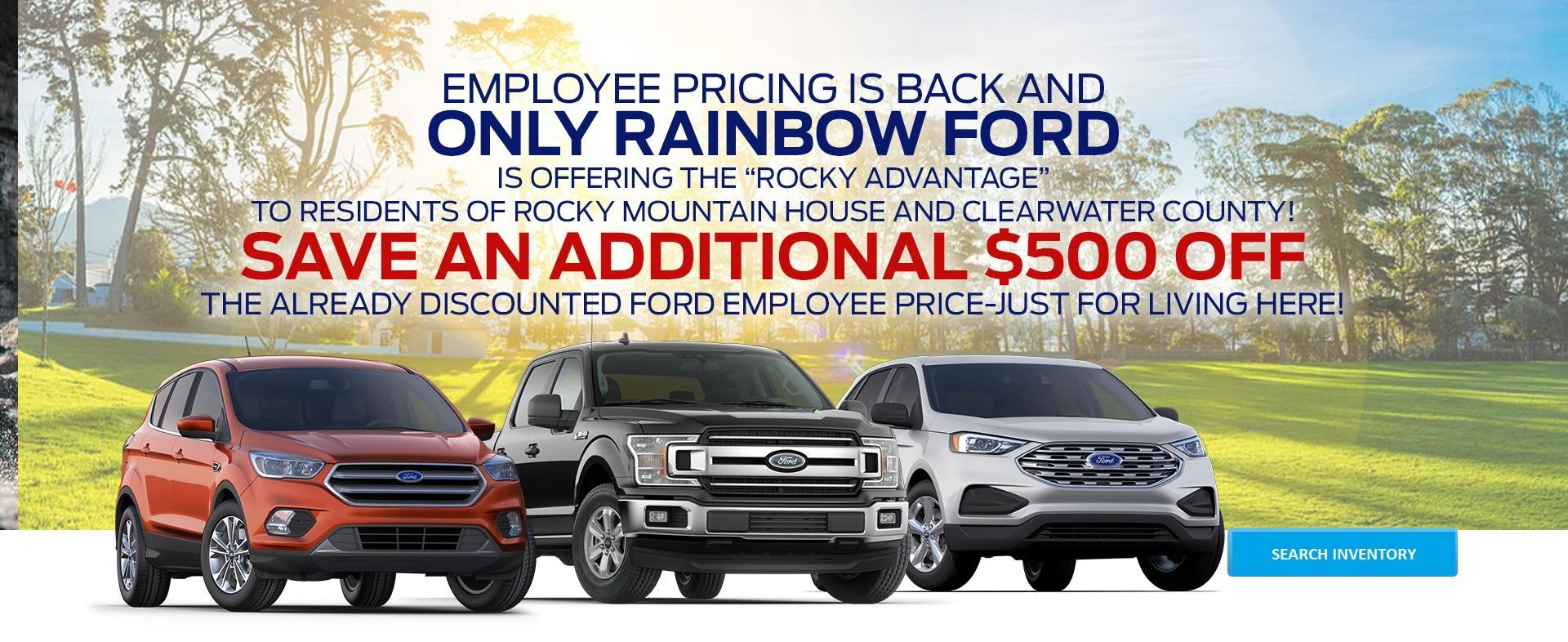 New & Used Ford Cars, Trucks & SUVs Dealership in Rocky Mountain