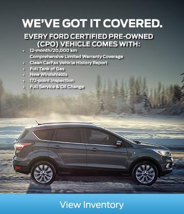 Ford Certified Pre-Owned Inventory CPO Benefits