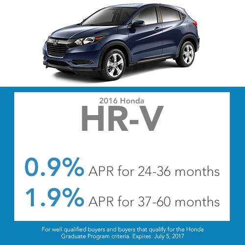 2017 honda hr-v finance offer