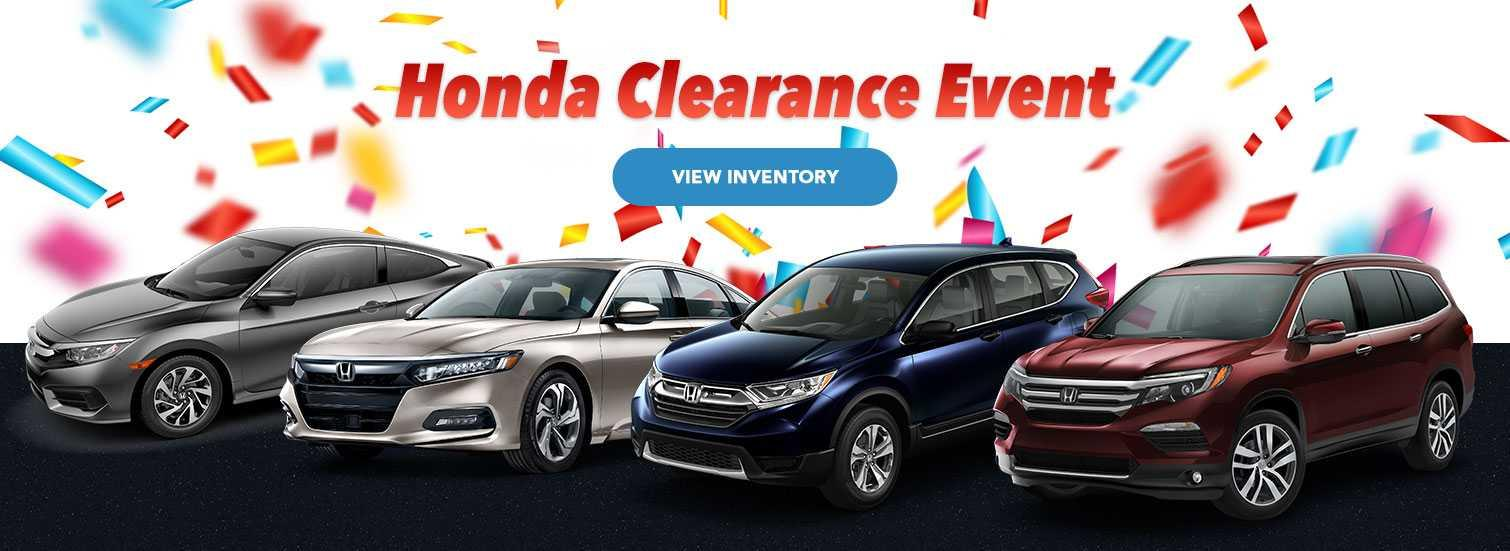Honda Clearance Event