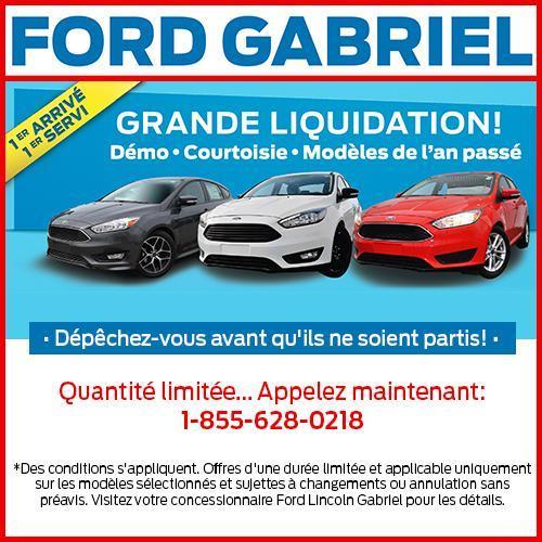 Ford Gabriel GRAND LIQUIDATION