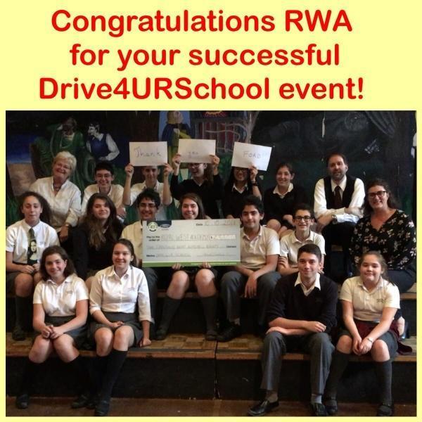 RWA Drive4UR school Ford Lincoln Gabriel