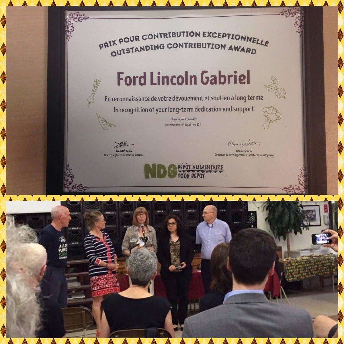 Contribution exceptionnelle Ford Lincoln Gabriel
