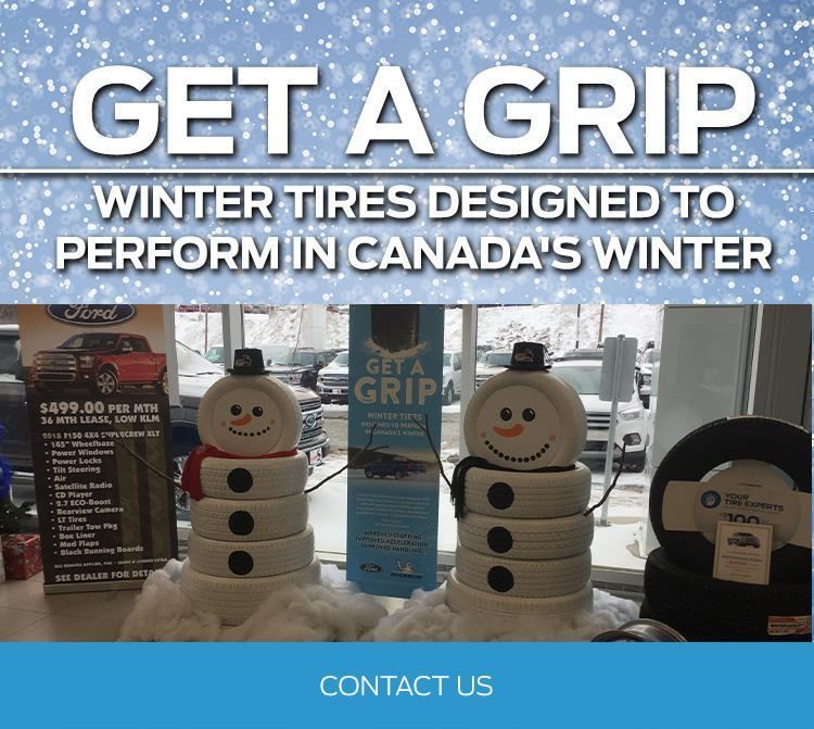 Get a grip winter tires