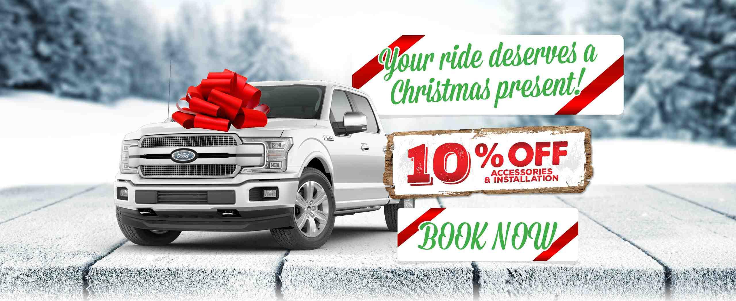 Your Ride Deserves A Christmas Present