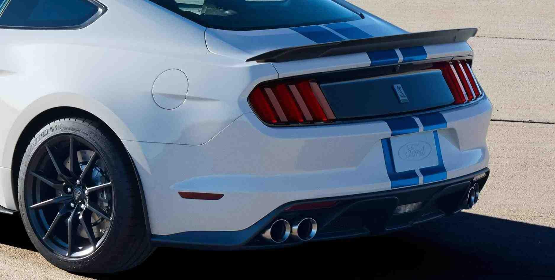 Shelby GT350 Rear Diffuser