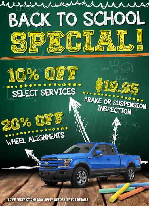 Rose City Ford Back to School Special