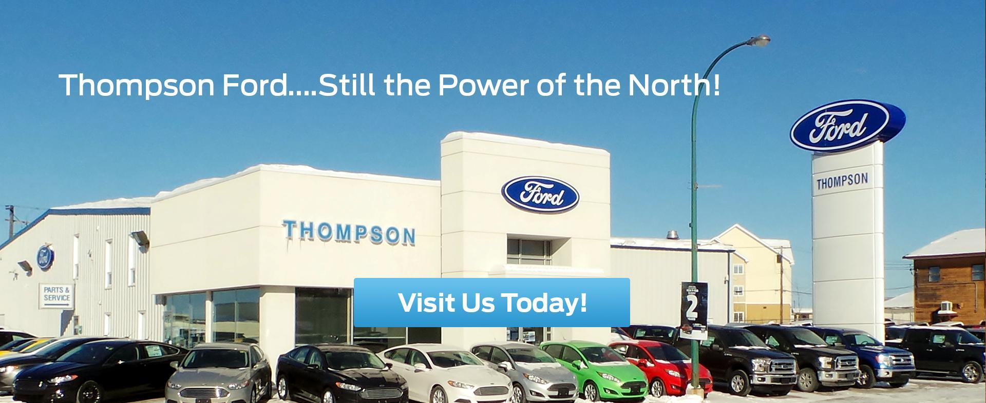 New & Used Ford Cars, Trucks & SUVs Dealership in Thompson