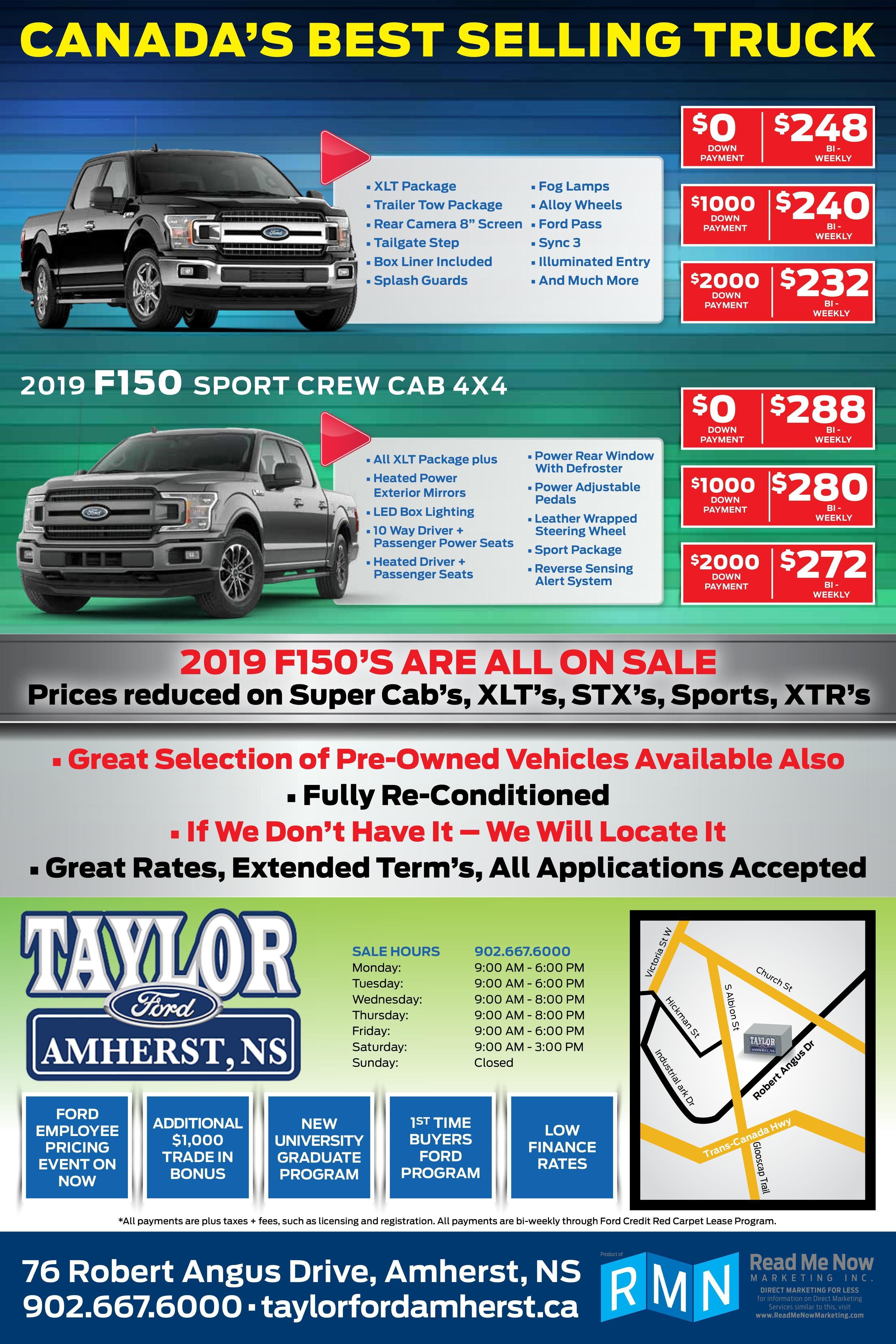 Ford Employee Pricing F150
