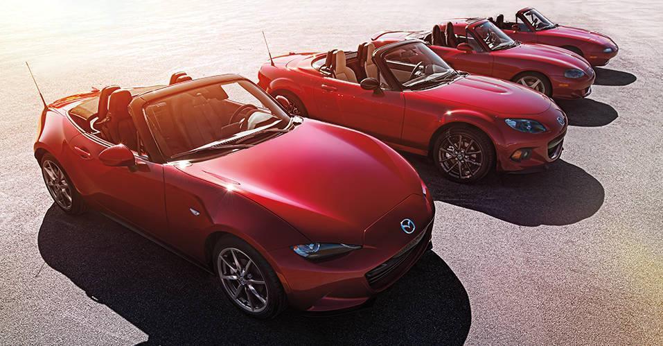 New 2019 Mazda MX-5 Red