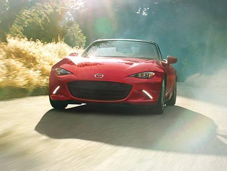 New  Mazda Interior
