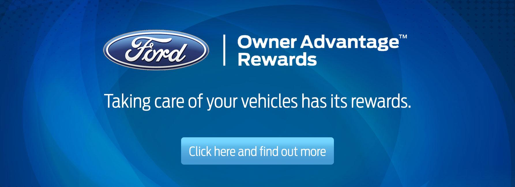 Ford Owner Advantage Awards at Metro Ford Calgary