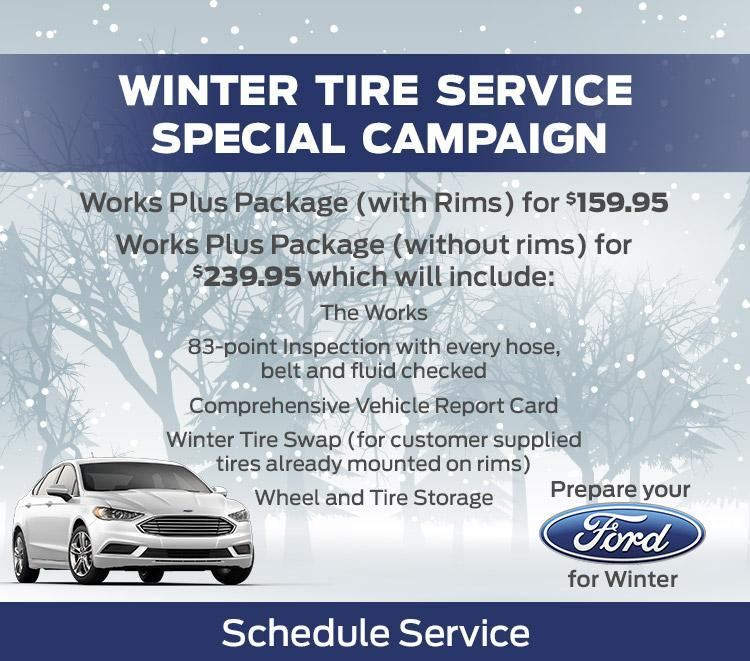 Winter Tires, Winter Tire Sales, Winter Tire Installation at Metro Ford Calgary