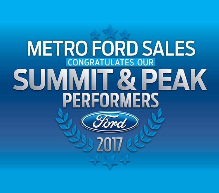 Summit and Peak performers