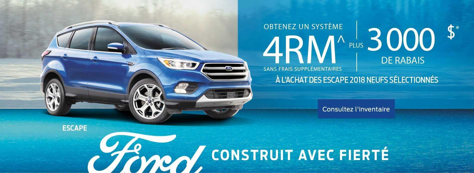 Offre Février Ford Escape 2018