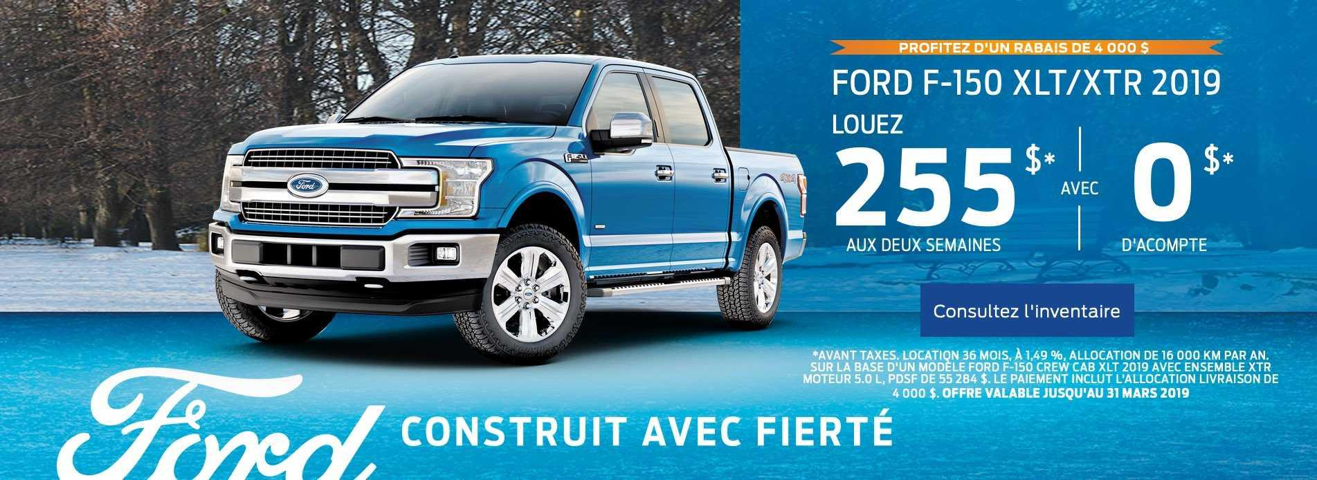 Offre Mars F150