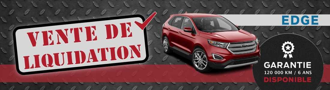 ford edge liquidation demo