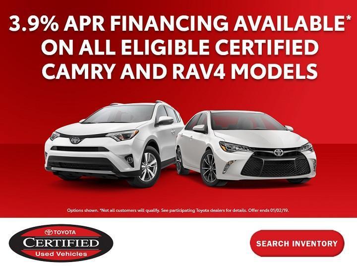 Pedersen Toyota CPO APR Special