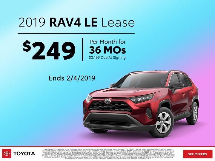 2019 RAV4 Lease