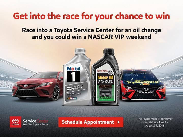ExxonMobil Toyota Sweepstakes