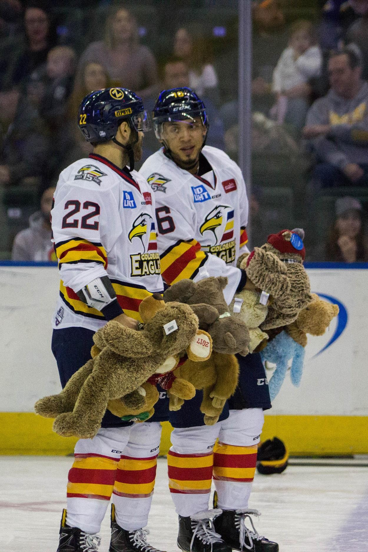 2017 Teddy Bear Toss Colorado Eagles