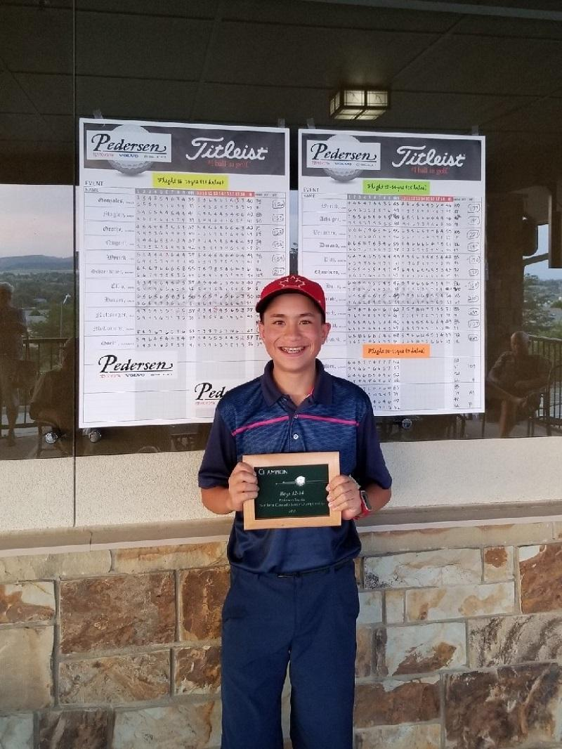 2018 Pedersen Junior Golf Tournament Winners