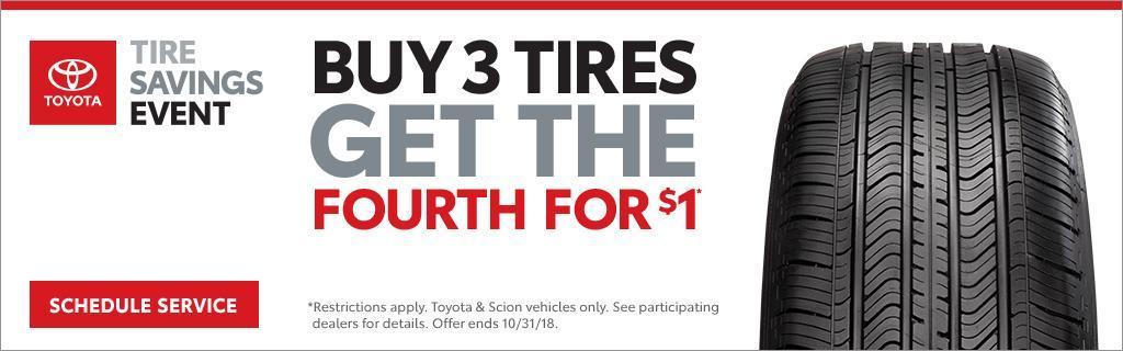 Toyota Tire Savings Event
