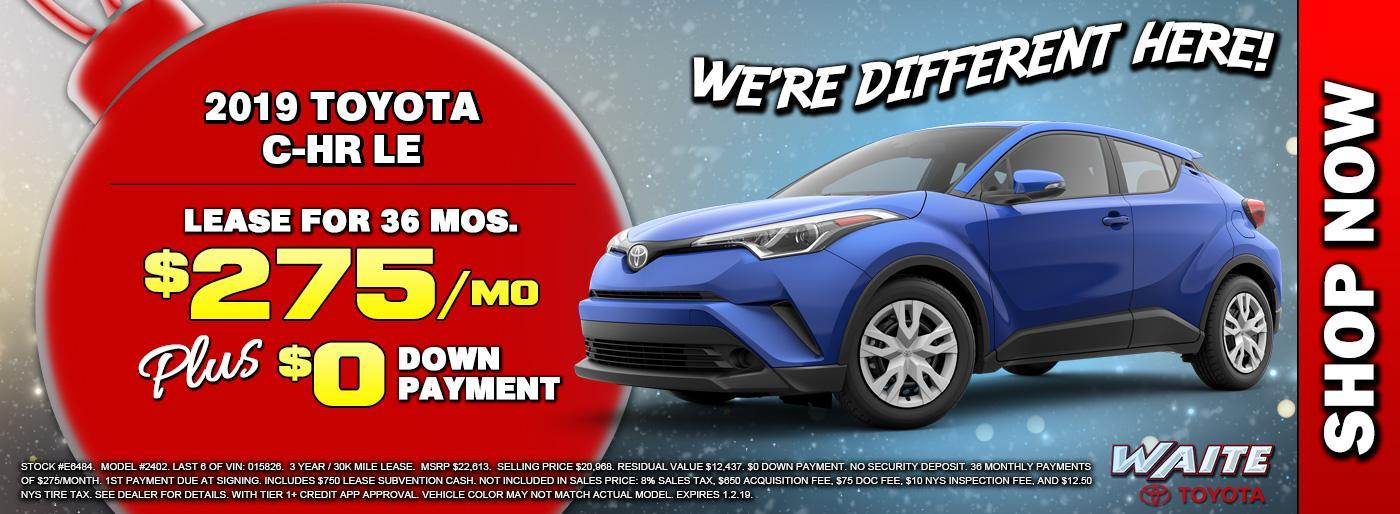 Shop Toyota C-HR in Watertown NY