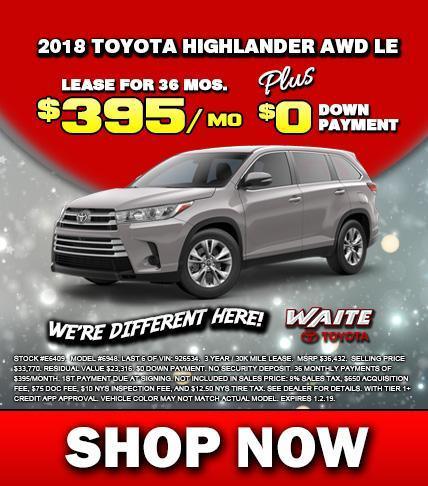 Shop Toyota Highlander in Watertown NY