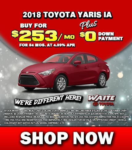 Shop Toyota Yaris in Watertown NY