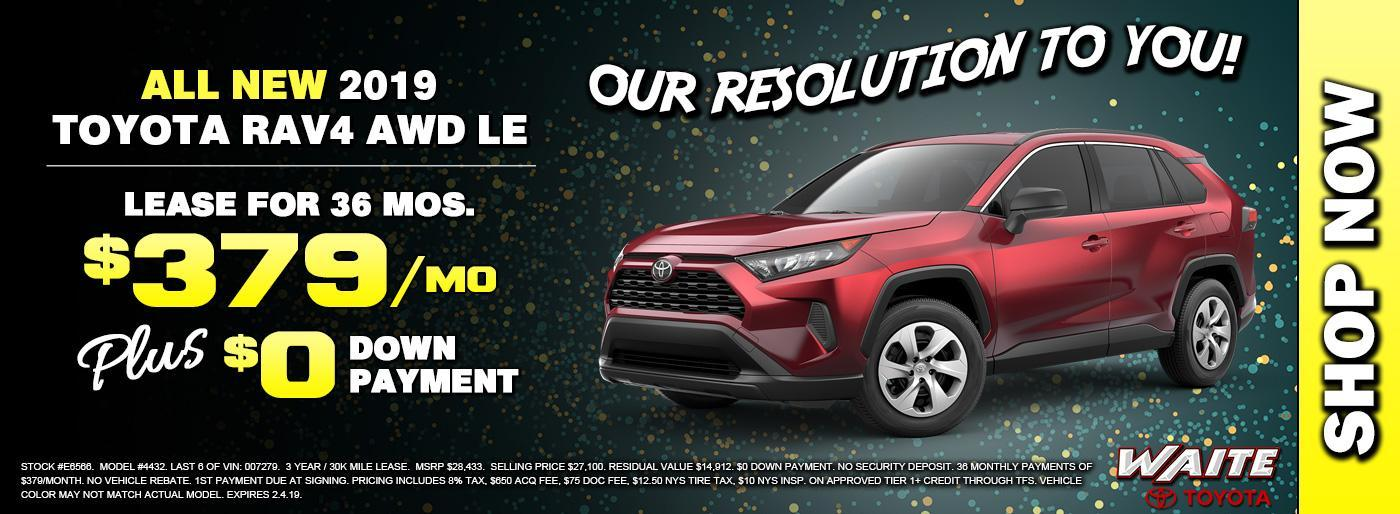 Shop 2019 Toyota RAV4 in Watertown NY