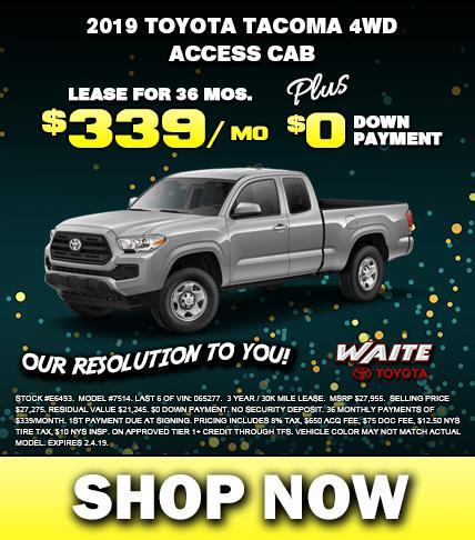 Shop 2019 Toyota Tacoma in Watertown NY