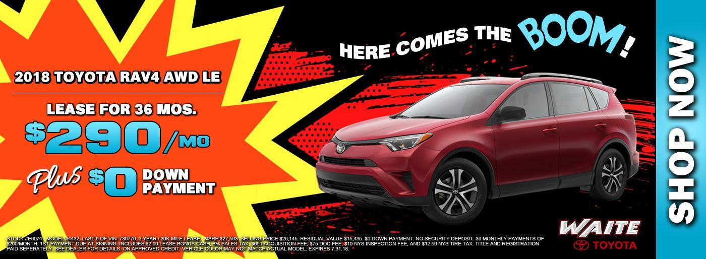 Shop 2018 Rav4 in Watertown NY