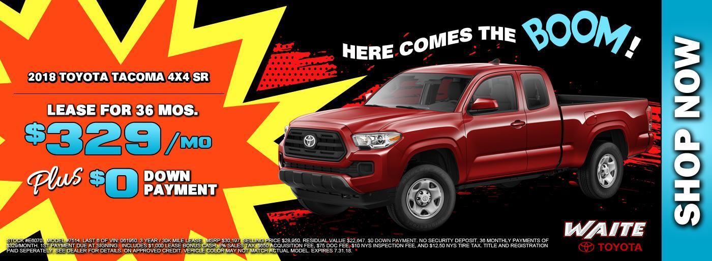 2018 Toyota Tacoma 4x4 SR