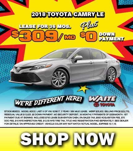 Shop Toyota Camry in Watertown, NY