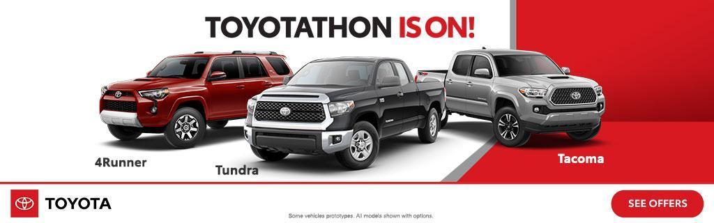 Toyotathon Is On Dec 2018