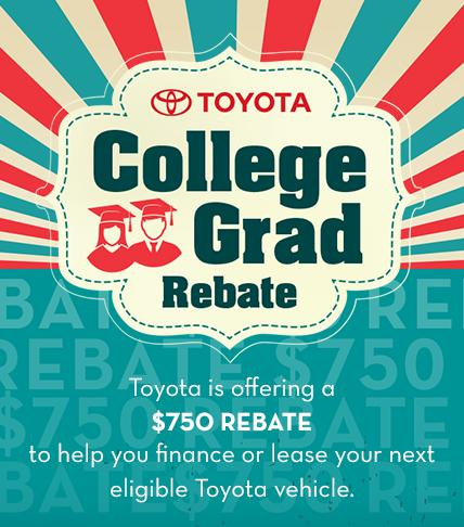 Toyota College Rebate