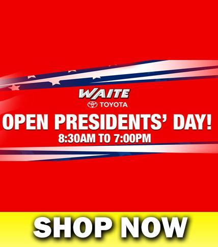Open Presidents' Day