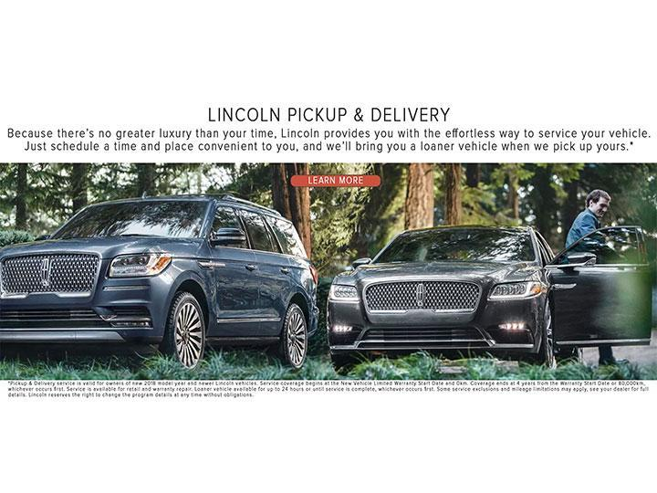 Lincoln Pick Up and Delivery | Pine Tree Lincoln Woodbridge