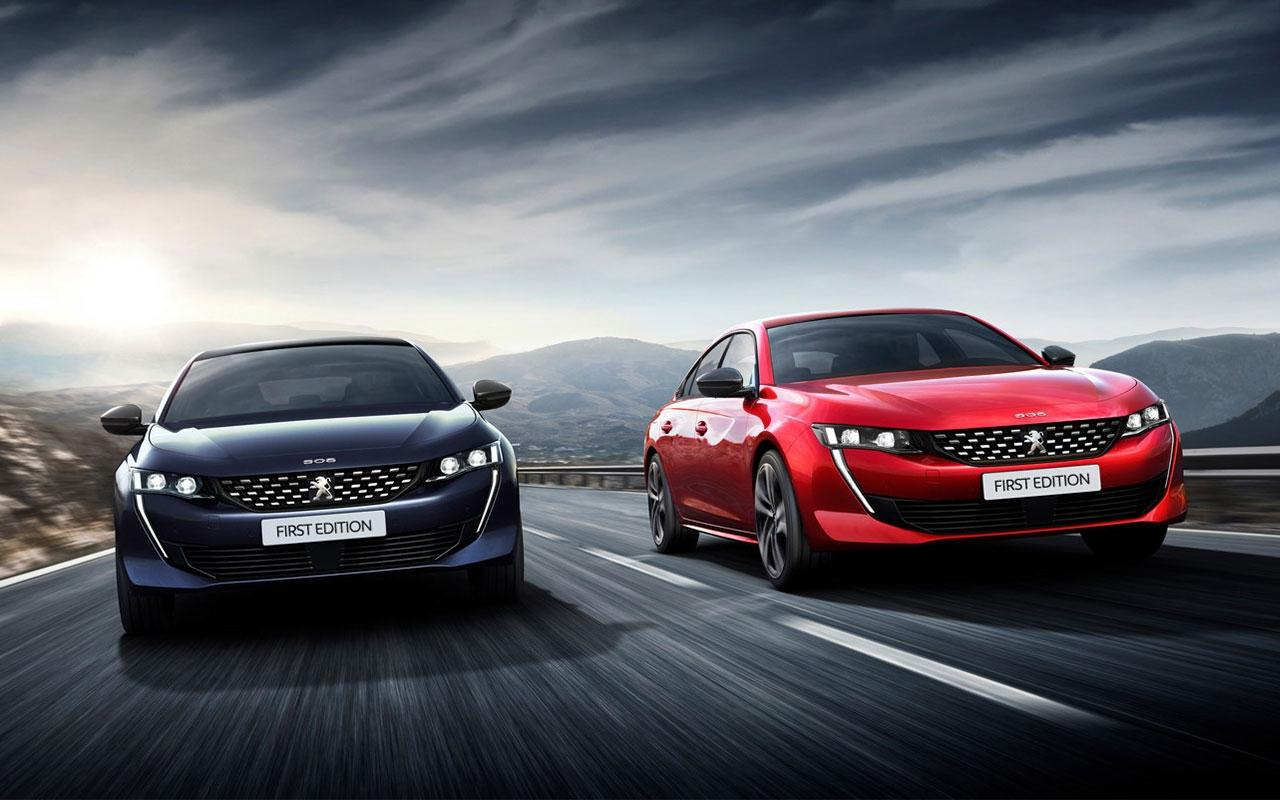 All new Peugeot 508 first edition