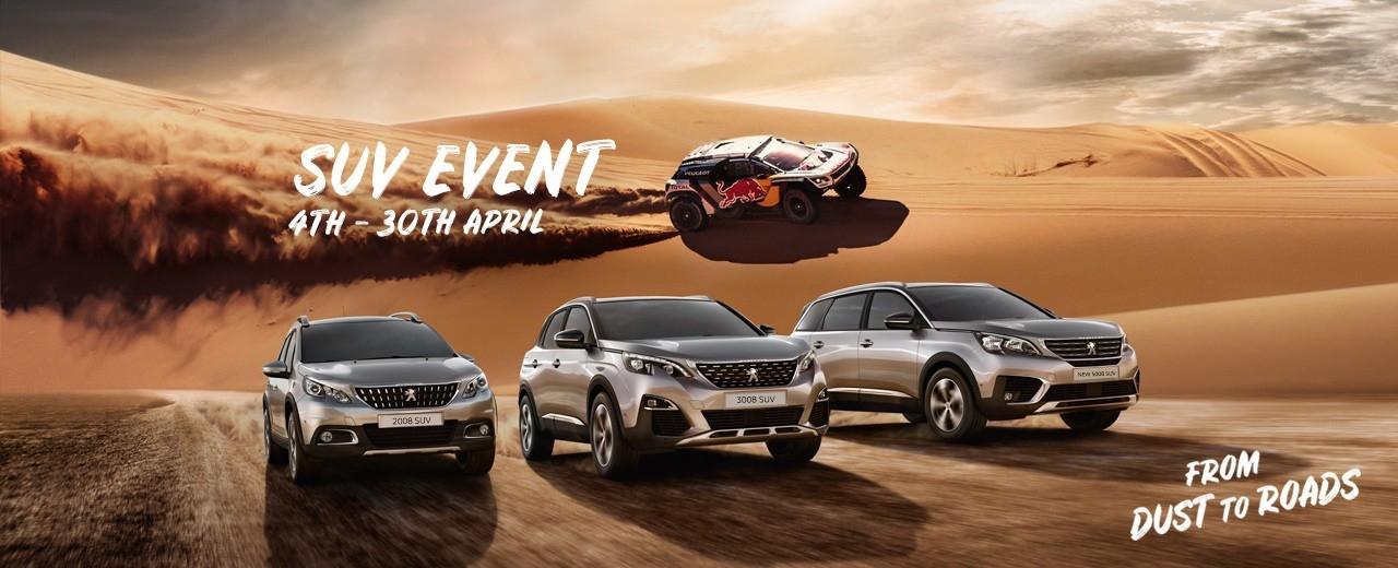 Peugeot SUV Event