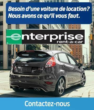 Enterprise Car Rental with Savage Ford