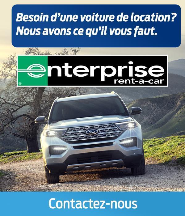 Enterprise Car Rental with Savage Ford