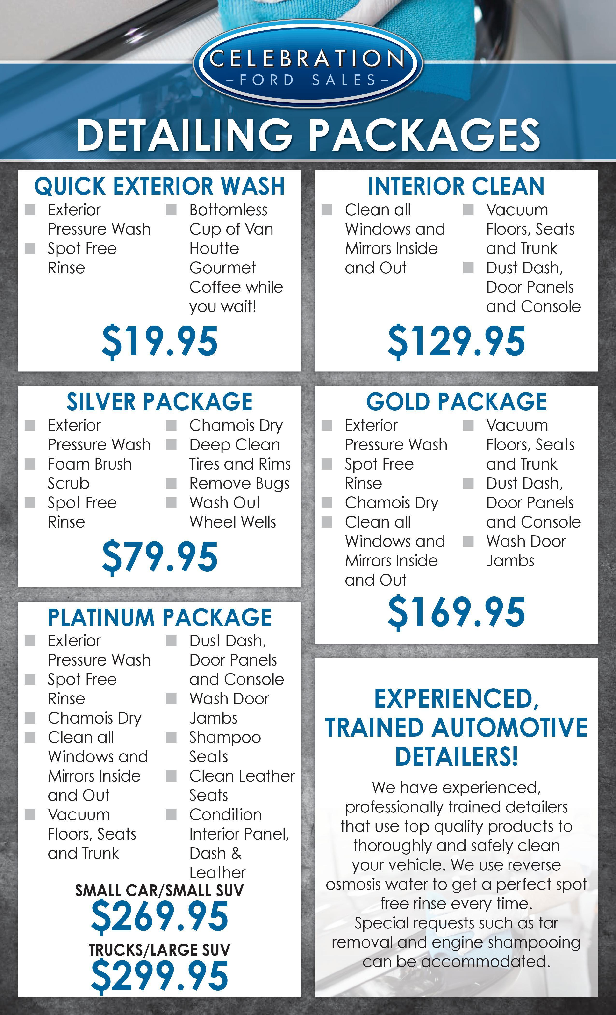 Ford Auto Detailing Auto Detailing