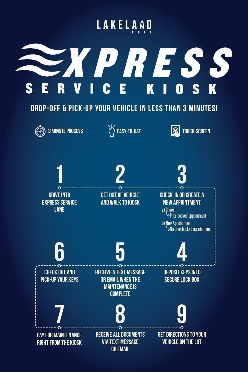 Ford Express Service at Lakeland Ford