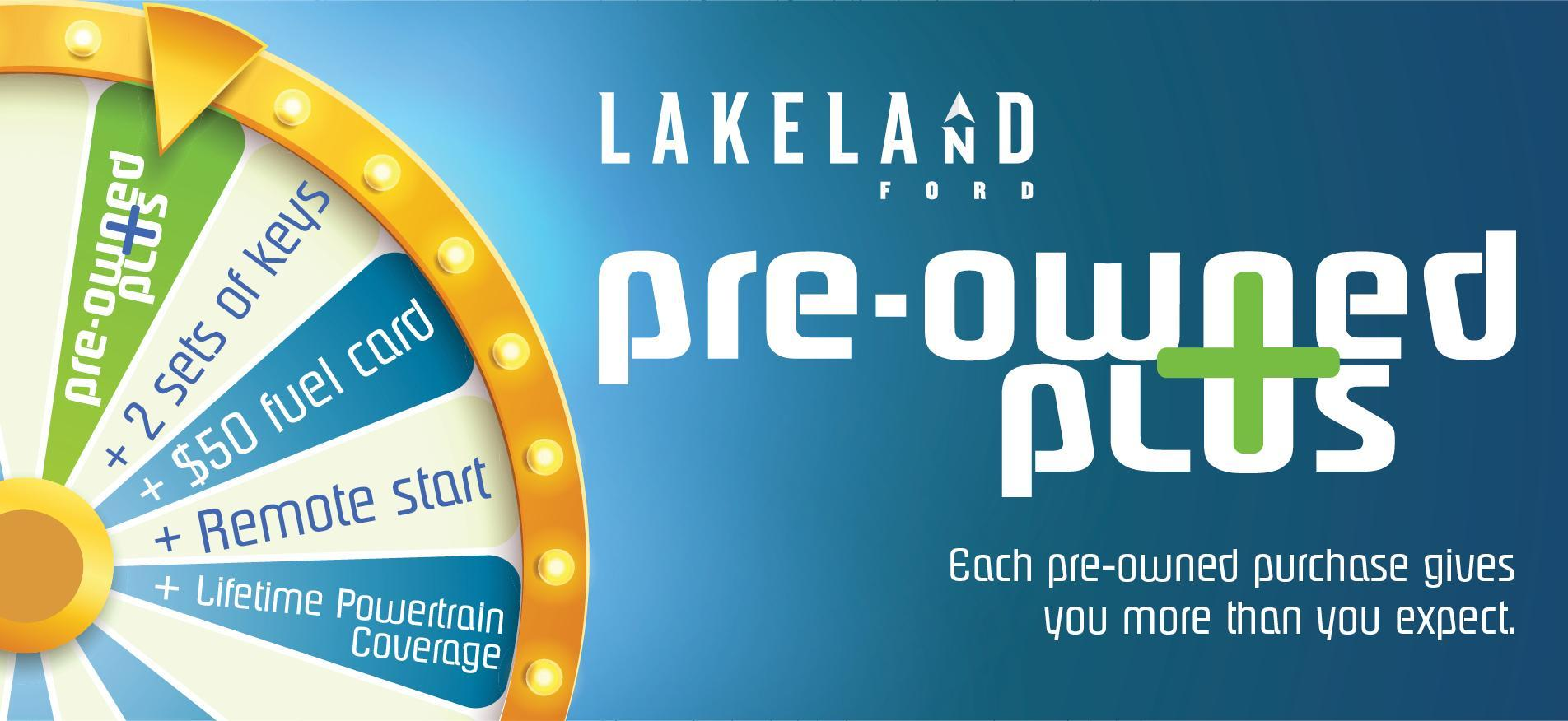 Ford Pre-Owned Plus at Lakeland Ford