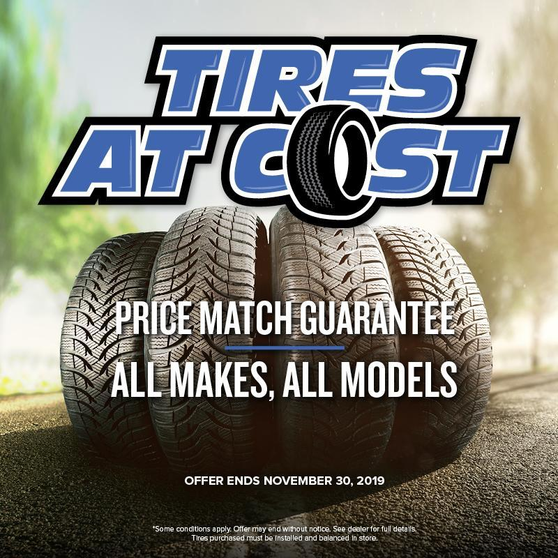 Tires at Cost